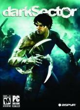 Dark Sector w/ Manual PC DVD biological virus mysterious powers shooter game!