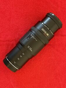 Canon Zoom Lens EF 70-210mm 1:4 with 58mm HAZE-1 protective filter