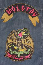 Molotov-Mexican Band-Patches 3-combo patches+1free(4)+1 sticker free