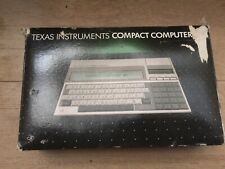 TI Compact Computer 40 - Boxed with Manual