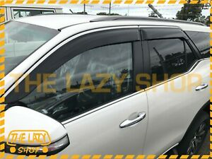 Injection Weathershields, Weather Shields for Toyota Fortuner 15+ #SJ