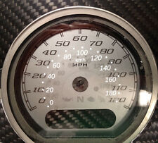 Harley Davidson FLHX Street Glide Tacho speedo kmh Aufkleber Gauge sticker dial