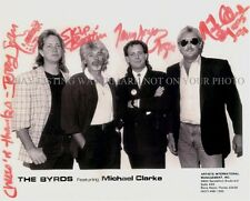 THE BYRDS SIGNED AUTOGRAPHED 8x10 RP PUBLICITY PHOTO GREAT BAND