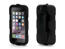 NEW GRIFFIN SURVIVOR MILITARY DUTY CASE COVER BELT CLIP FOR IPHONE 6/6s Uk