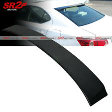 ABS Rear Roof Spoiler Window Visor Wing Lip Black fits 06-13 Lexus IS250 IS350