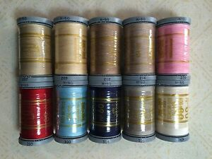 Presencia 60wt 3-ply 100% Cotton Sewing / Quilting Thread ~ 600 meters ~ 60 wt