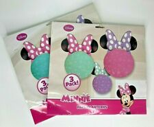 New ~ MINNIE MOUSE Paper Lanterns Party Decorations 3 Count Pink, Teal, Purple