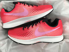 NIKE AIR ZOOM PEGASUS 34 UK 5.5 EU 39 TRAINERS GYM RUNNING PINK 880560-800
