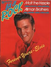 Let It Rock December 1973 Elvis Presley, Mott, Allman Brothers EX 111915DBE