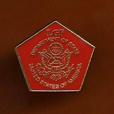 US EMBASSY JERUSALEM  LOCAL GUARD FORCE DEPARTMENT OF STATE VERY RARE PIN