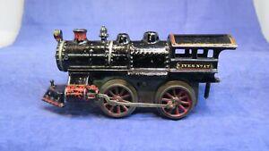 IVES Prewar O Gauge No.17 Cast Iron Clockwork Steam Loco! RARE! 1912 Only! CT