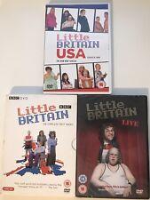 LITTLE BRITAIN BUNDLE - LITTLE BRITAIN USA - COMPLETE FIRST SERIES - LIVE - DVD