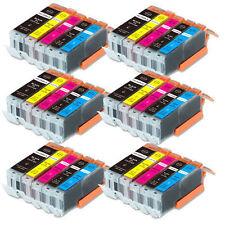 30 PK Printer Ink + Chip for Canon PGI-250 CLI-251 MG5522 MG6420 MX922 FAST SHIP