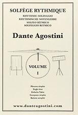 Dante Agostini Solfège rythmique mesures simples N° 1