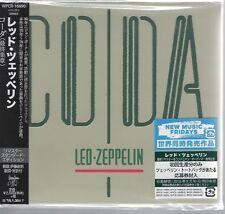 "LED ZEPPELIN ""Coda"" 2015 Japan Mini LP Sample Promo CD RARE"