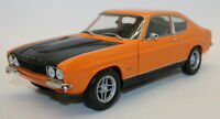 Minichamps 1/18 Diecast Car 150 089077 Ford Capri MK1 RS2600 1970 Orange / Black