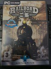 PC DVD ROM Game * RAILROAD TYCOON 3 * BIG BOX