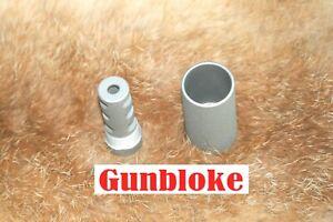 TIKKA SAKO TRIPLE-TAC PLUS muzzle brake 18x1mm suit your cal. STAINLESS CERAKOTE