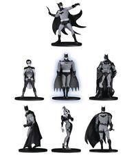 Batman Black & White Serie Mini Figure 9,5 cm Deluxe Box 7 Statues Set N. 2