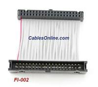 FI-004 CablesOnline 4 inch 40-Pin Male to Female IDE Hard Drive Extension Cable