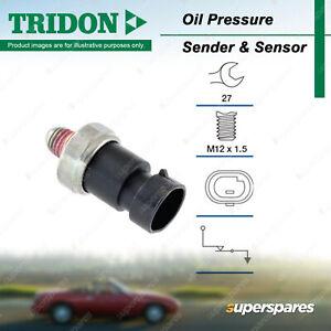 Tridon Oil Pressure Light Switch for Opel Insignia 2.0L DOHC 16V Petrol