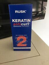 Rusk Keratin Anticurl Kerashine Conditioning #2 Multi-dimensional  Formula NIB