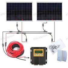 250w 250 Watt 24v Solar Panel Poly High Power for Home Caravan Battery Charging