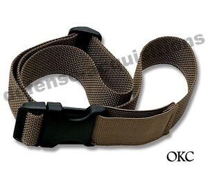 Ontario OKC3S Compatible Leg Strap Tactical Drop Leg COYOTE Lashing Cargo Strap