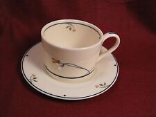 Gorham Ariana Town & Country Cup & Saucer Set Fine Translucent China Collection