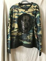 Hudson Outerwear Mens Multicolor Long Sleeve Crew Neck T Shirt Size 3X