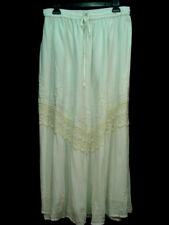 Skirt Off White Old West Pioneer Boho Victorian Edwardian Ren Faire one size