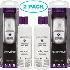 EveryDrop1 Ice & Water Refrigerator Filter 3 By Whirlpool AUTHENTIC(Pack of 2)
