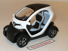 KINSFUN RENAULT TWIZY 1:18 SCALE WHITE NEW NO BOX USA FREE SHIP
