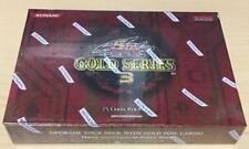 Yugioh Gold Series 3 English Edition Factory Sealed Box - QTY AVAIL