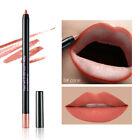 Hot 12 Colors Cosmetic Professional Lipliner Waterproof Lip Liner Soft Pencil