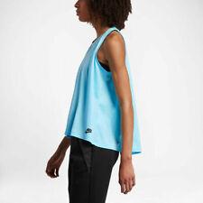 Nike 833454 en condiciones de servidumbre Sin Mangas Top Suelta Fit Transpirable Azul Claro (S)