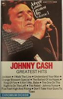 K7-TAPE-CASSETTE- JOHNNY CASH GREATEST HITS - 40-32565