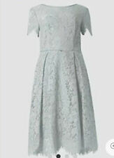 NEW GREY LACE DRESS 20 22 MARKS SPENCER WEDDING BRIDESMAID COCKTAIL PARTY £69