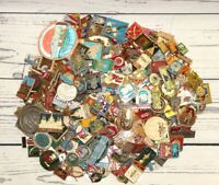 Lot of 25 Vintage Enamel Metal Pins Buttons Backpack Decoration Made in USSR
