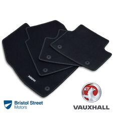 Genuine Vauxhall Insignia A FACELIFT Velour Black Front/Rear Carpet Floor Mats