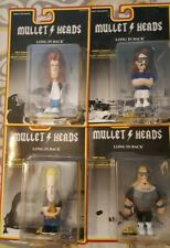 Achy Breaky Toys Mullet Heads Series 1 First Edition Complete Set Ships Free!