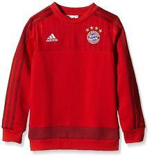 ADIDAS JUNIOR BAYERN MUNICH FC FOOTBALL CLUB SWEATER BRAND NEW 15 - 16 YERARS