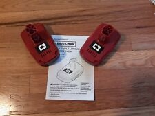 2 Craftsman C3 19.2 Volt Compact Lithium Ion Battery Packs 5166