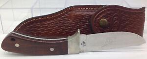 Vintage Case XX R603 SSP Pawnee Hunting Skinning Knife W/Original Leather Sheath