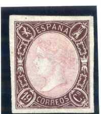 SELLOS DE ESPAÑA 1865 Nº 71 ISABEL II NUEVO Certificado Graus