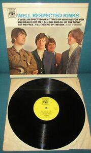 KINKS Well Respected Kinks ORIGINAL 1st UK 1966 MARBLE ARCH MONO