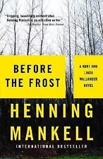 Before the Frost by Henning Mankell (paperback
