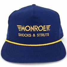 Vintage Monroe Shocks & Struts Rope Front Snapback Hat