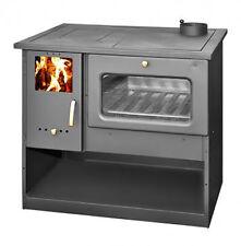 Poêle à bois Cuisinière Brûleur Foyer Haut efficace FOUR NEUF made in UE 9 KW