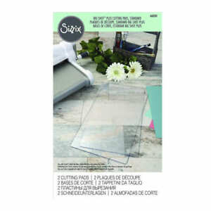 OFFIClAL SIZZIX® CUTTING PADS, BIG SHOT™ PLUS (1 PAIR) A4 660581 FREE UK P & P